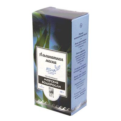 Маска альгинатная увлажняющая «Морские водоросли» 1